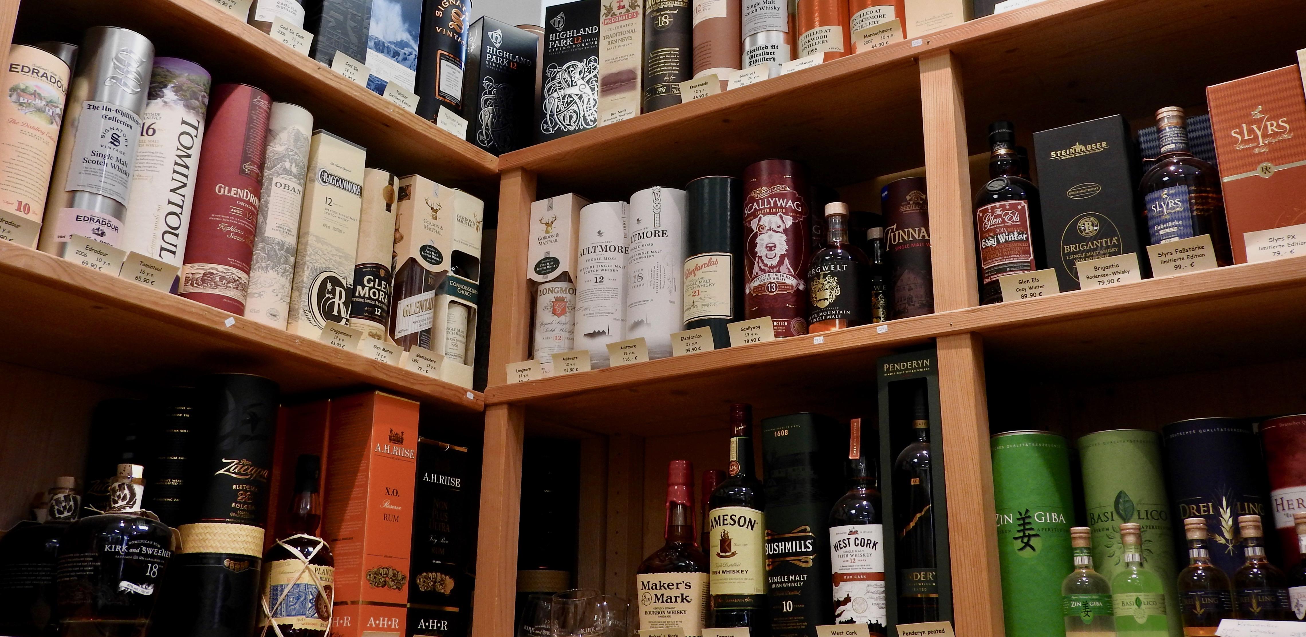 Whisky im Flaschengeist