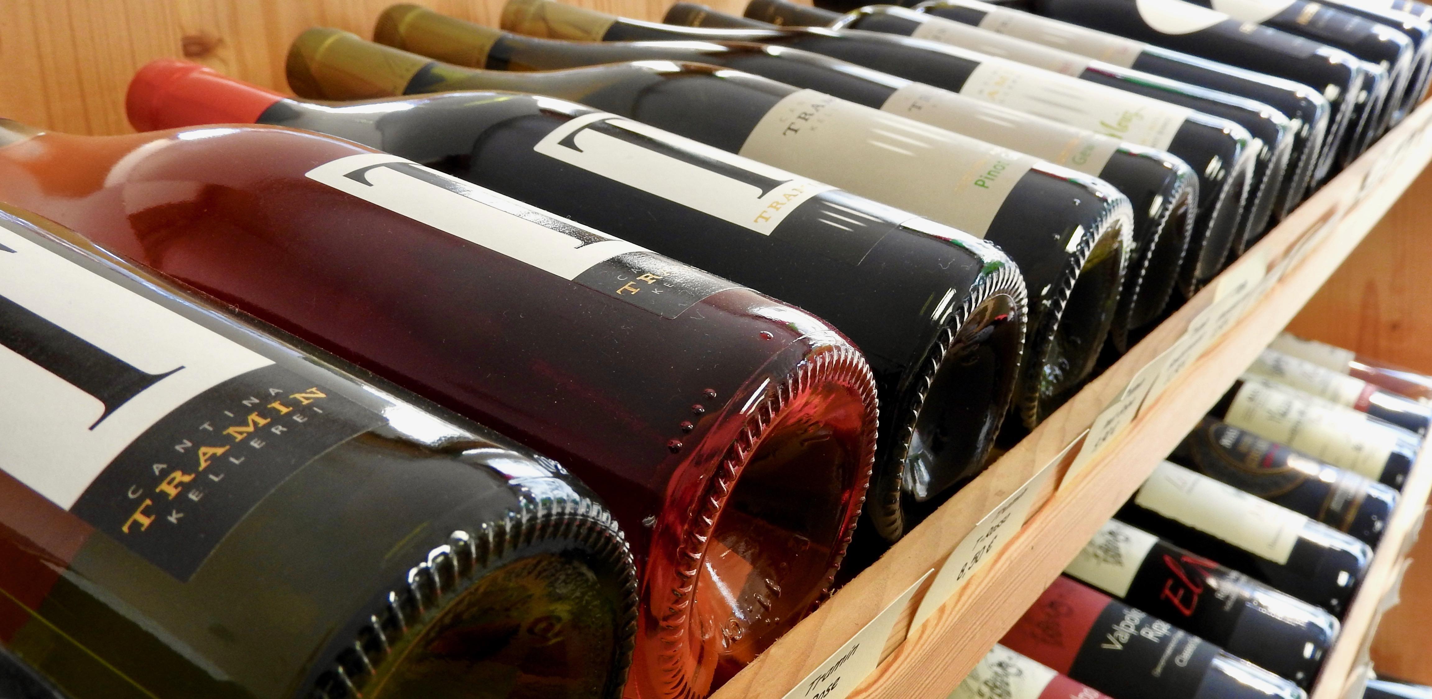 Wein im Flaschengeist