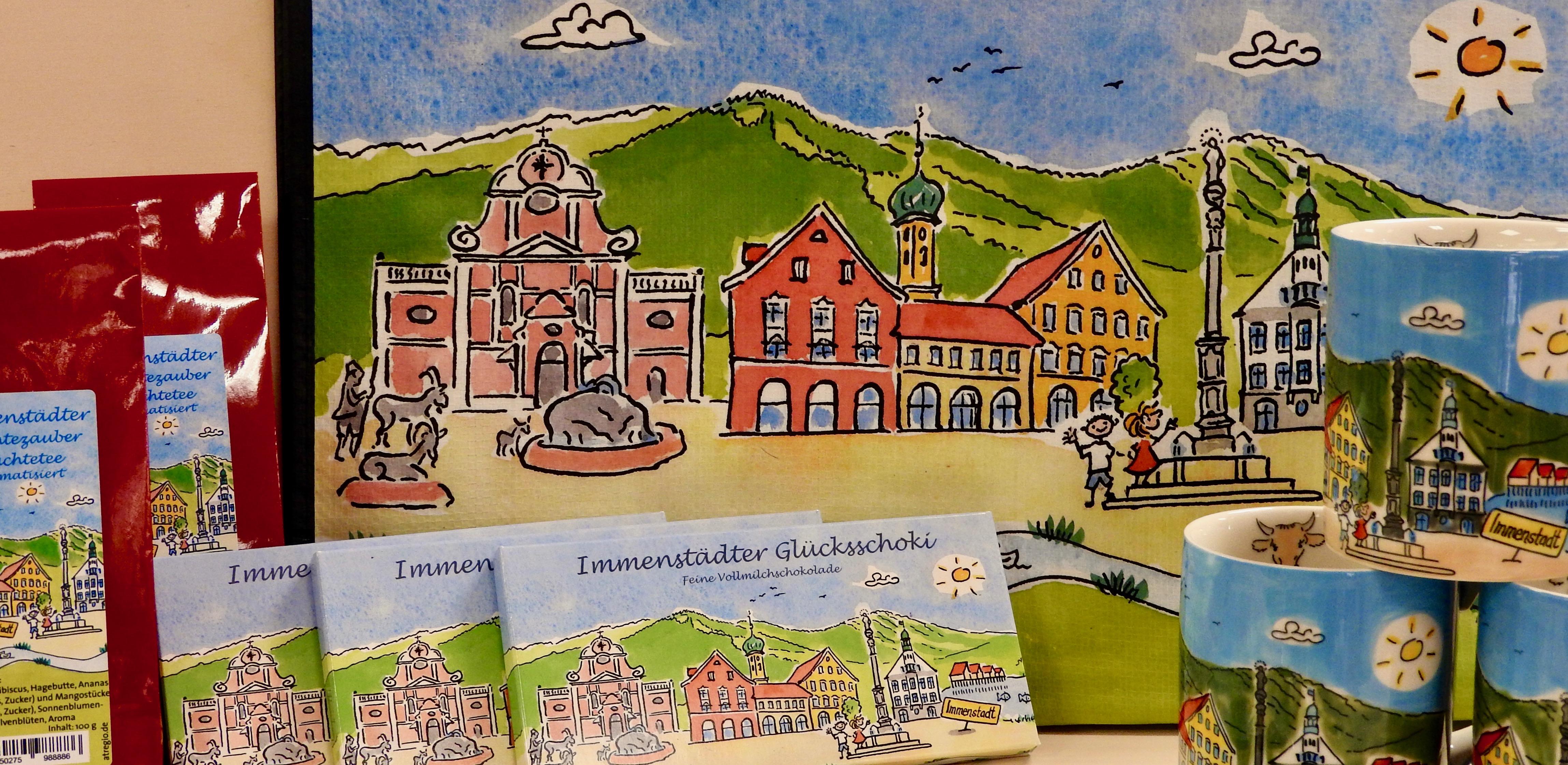 Immenstadt Souvenirs im Flaschengeist